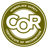 COR (Certificate of Recognition)